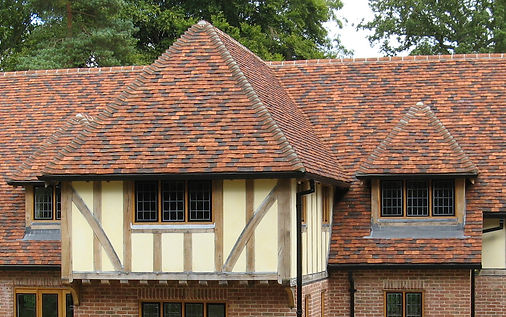 Traditional English Shingle Clay Tile from Tudor