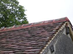 Terra Cotta Ridge Shingle Tile Roof