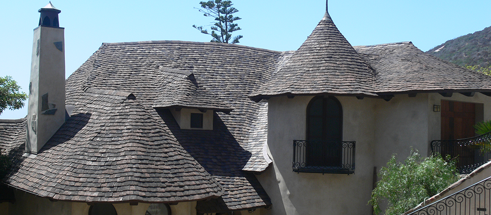 Custom Made Clay Roof Tile