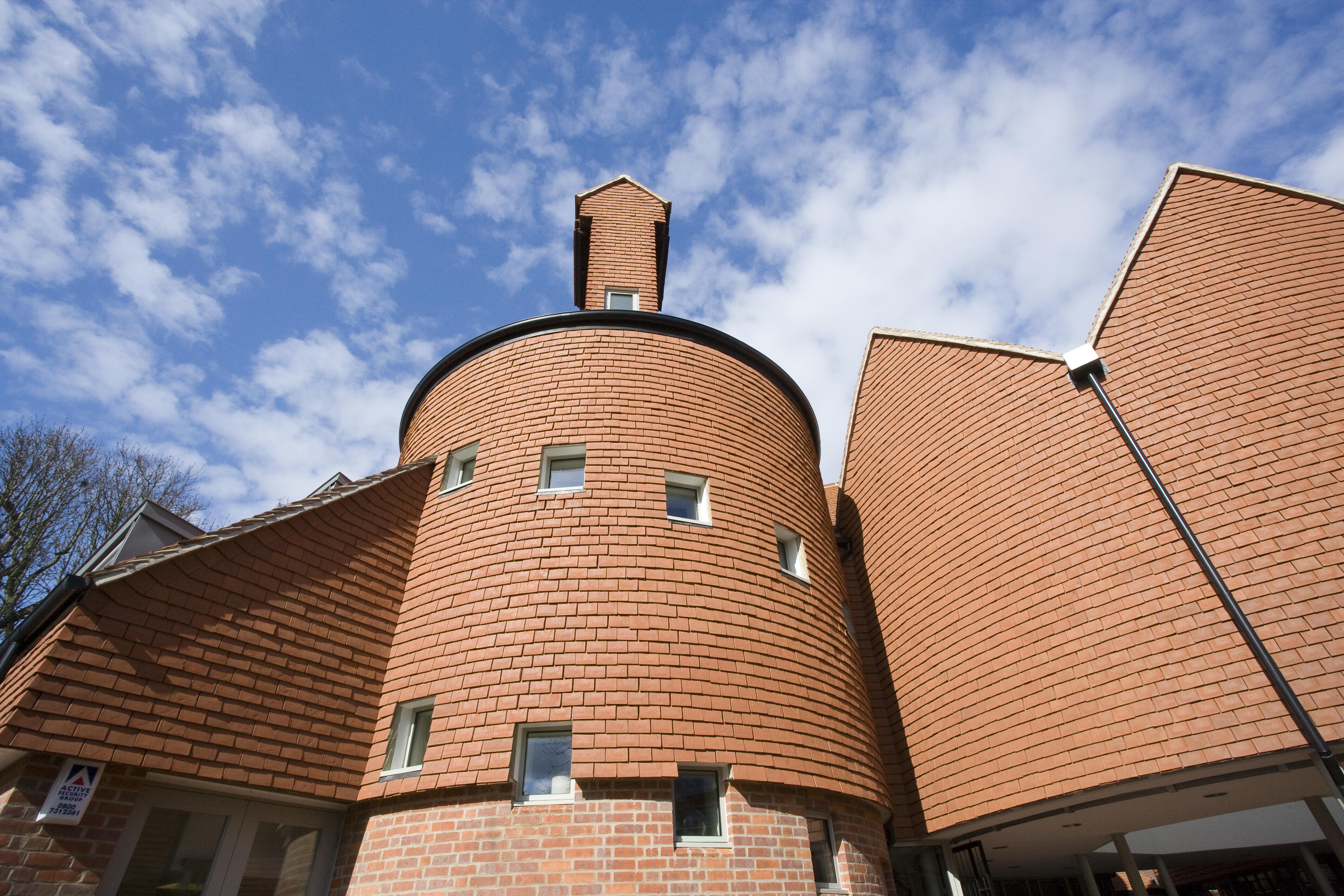 Vertical Tiling of Circular Tower