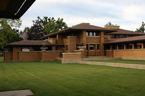 Frank Lloyd Wrights Darwin Martin house in Buffalo New York