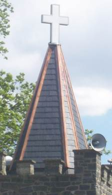Peach Bottom on steeple