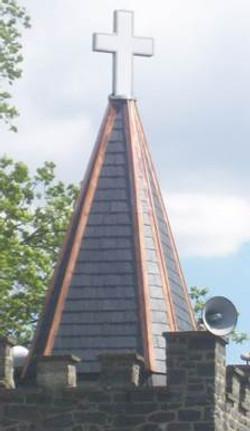 Peach Bottom on steeple