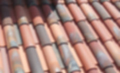 Castilla - Fire Flash finish on a Mediterranean clay roof tile