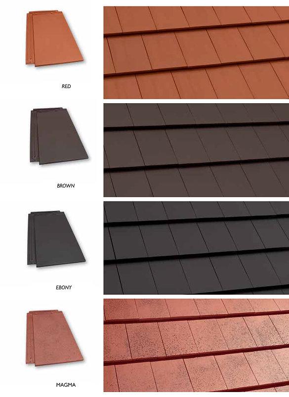 Natural Red, Tobacco Brown, Ebony Gray & Magma