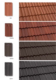 Red,Magma, Brown & Ebony