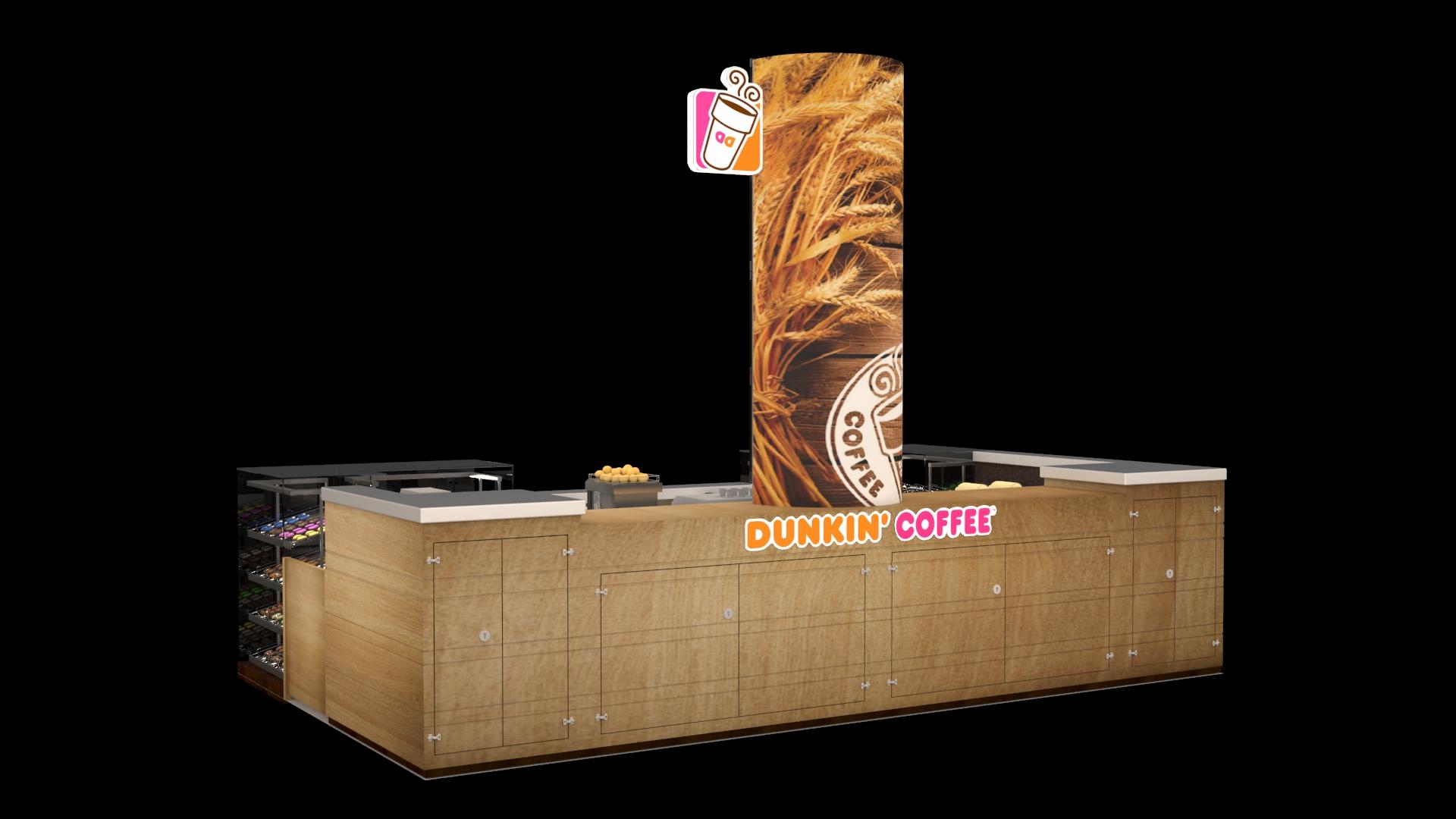 Dunkin Coffee Quiosco.2014