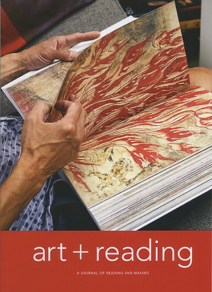 art+reading journal  Issue 1 Rupture