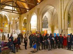 Exposition franco-chinoise à l'Eglise Saint-Pierre de Senlis