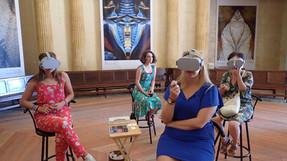 Arles : visite en VR de mon expo Nature Divinity de Pékin