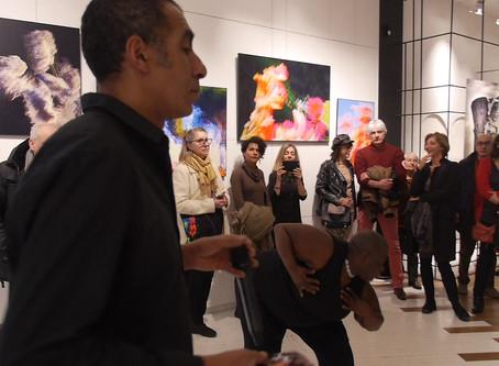 Khalid'K, photos et danse a Heureux les Curieux