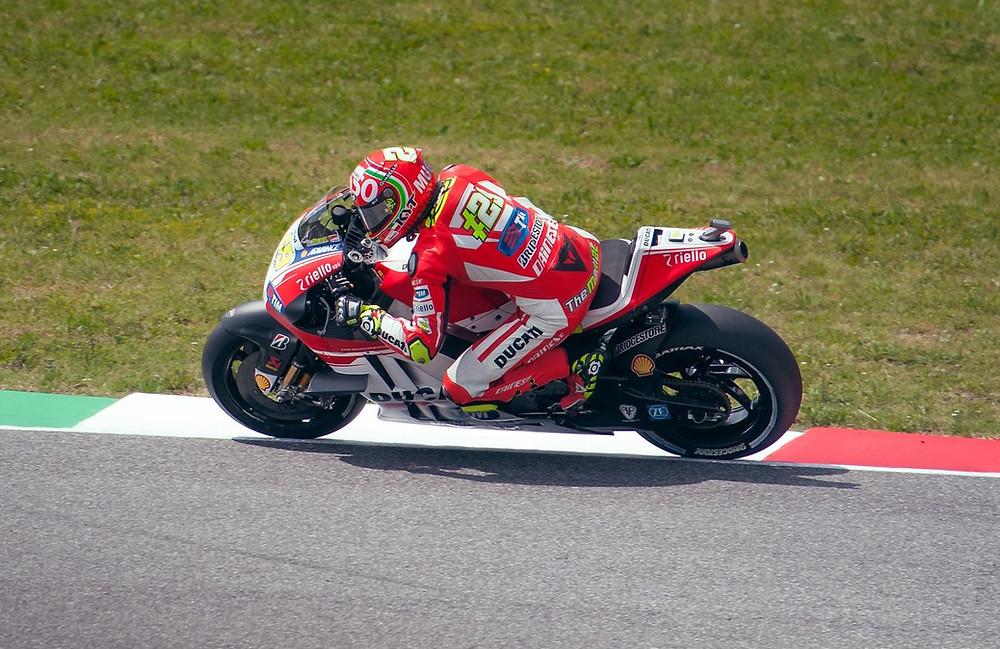 MotoGP rider