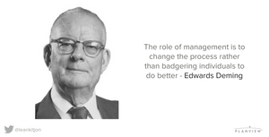 Edwards Deming's quote