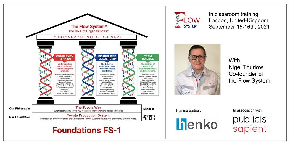 Flow System Foundation (FS-1) Training - London