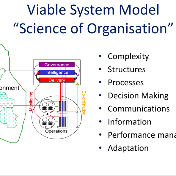 DL meetup: Shaping the Digital Organisation using the Viable System Model