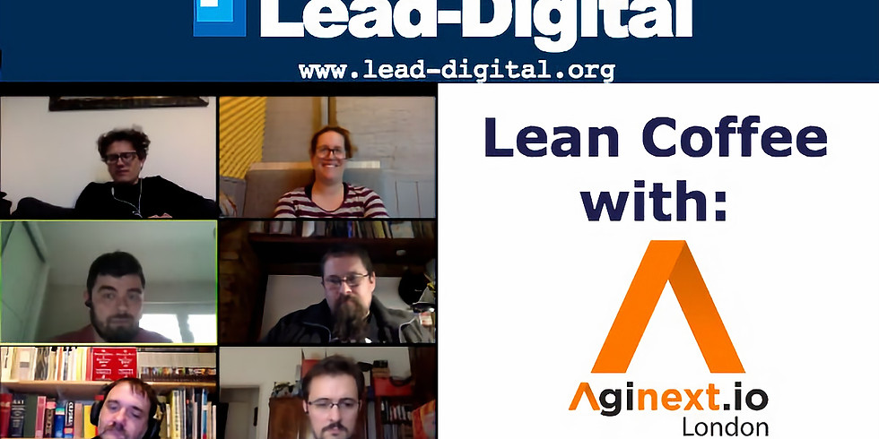 Lean Coffee - Aginext & Digital Leadership