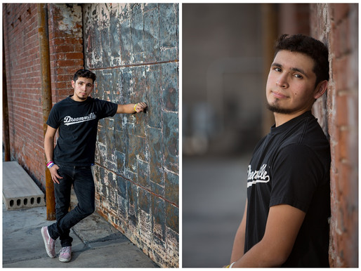 Guy Senior Portraits - Urban High School Senior - St. Charles, MO Photographer