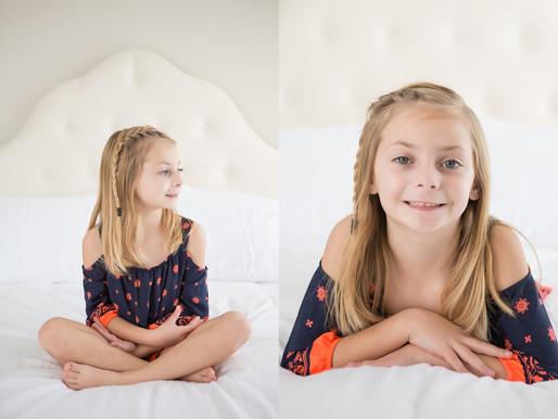 Springtime Photography Session Children Portrait Studio