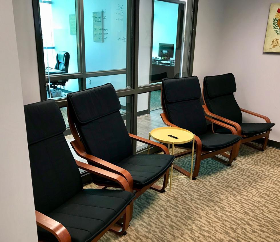 Chevron Room Chairs