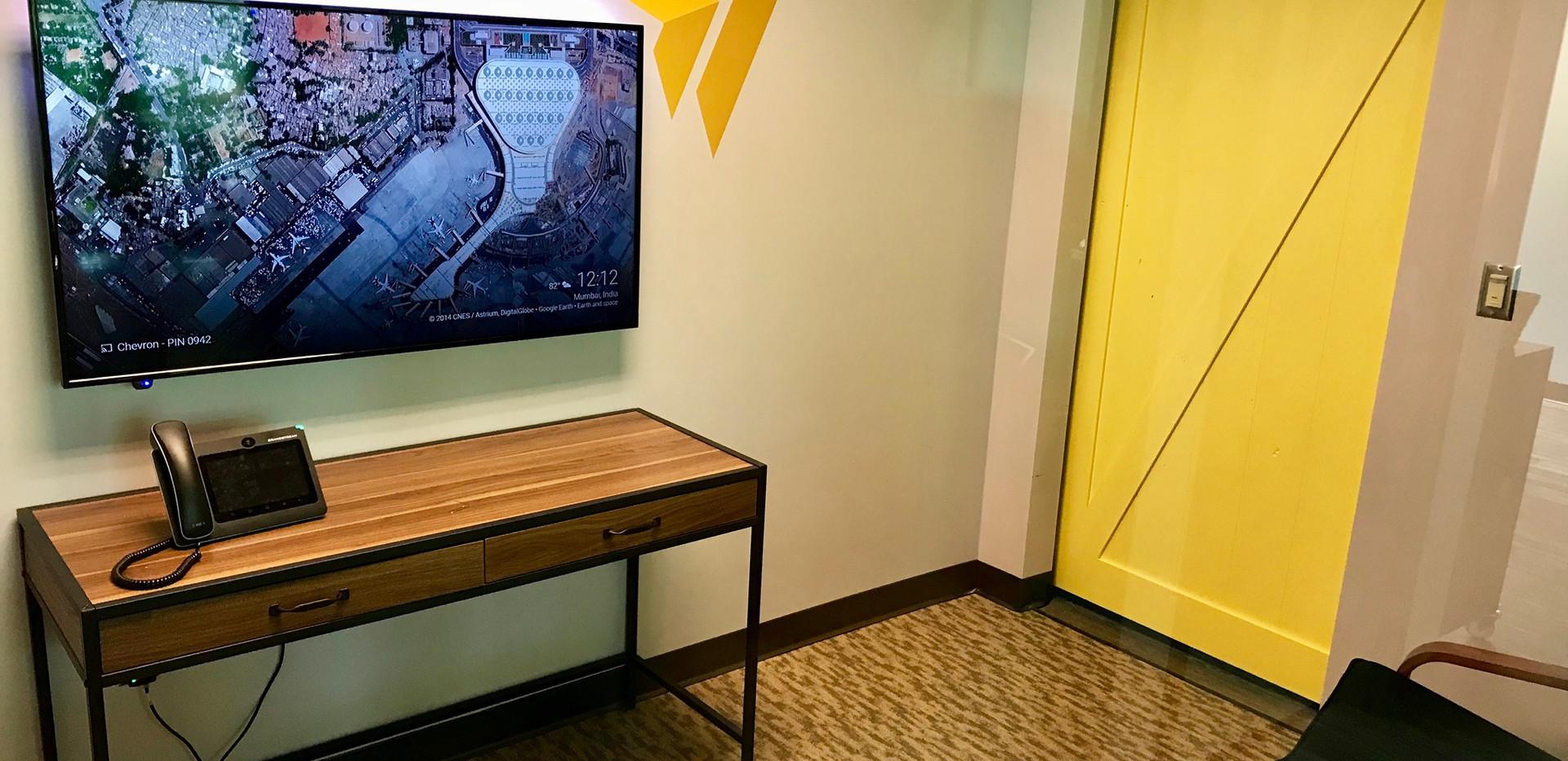 Chevron Room TV