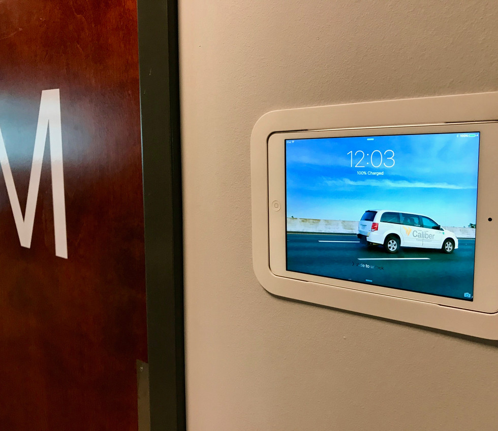In-wall iPad