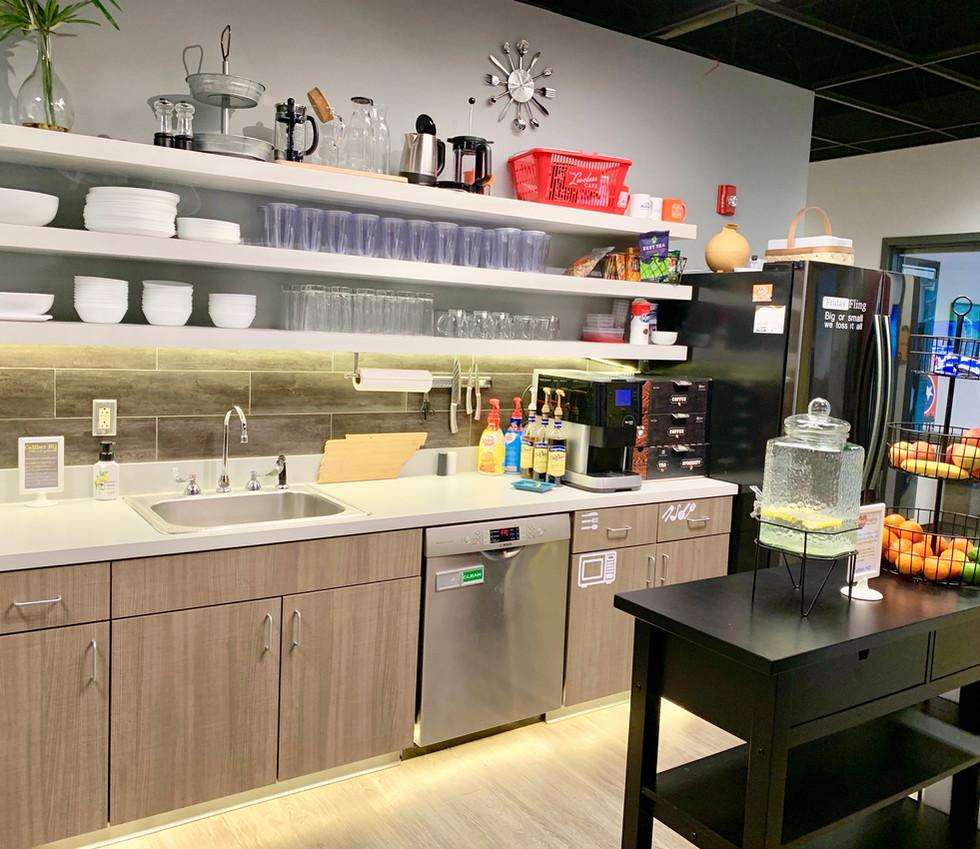 Cafe Shelves
