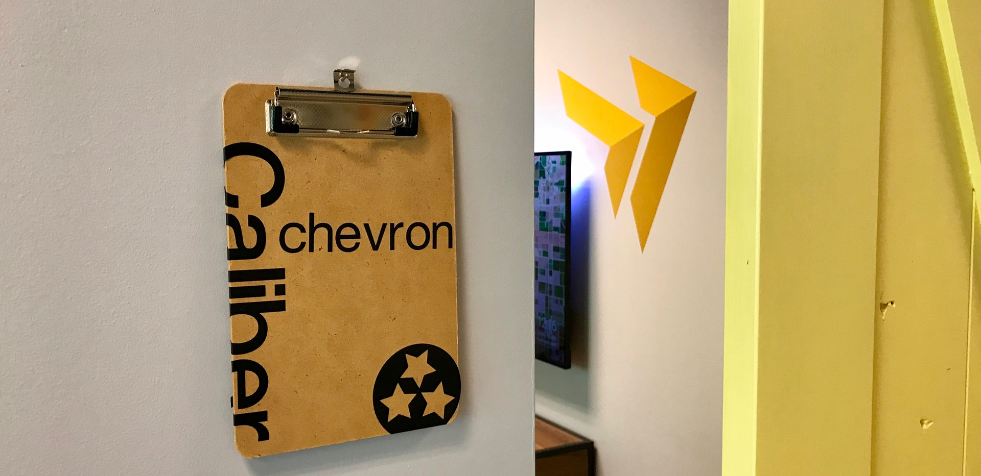 """The """"Chevron"""" Room"""