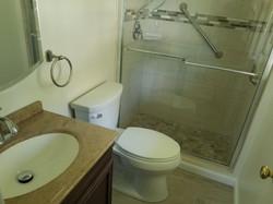 bathroom renovation in arlington