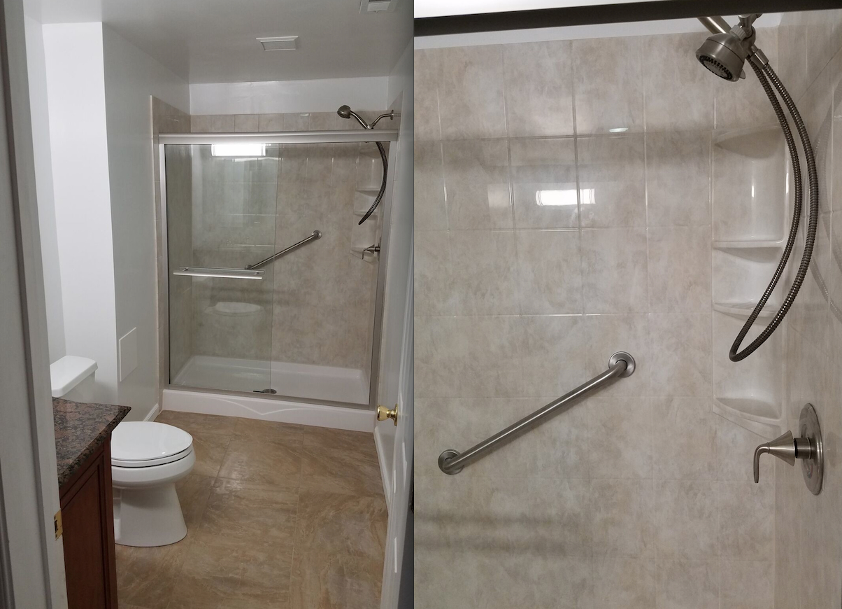 bathroom renovation in loudoun