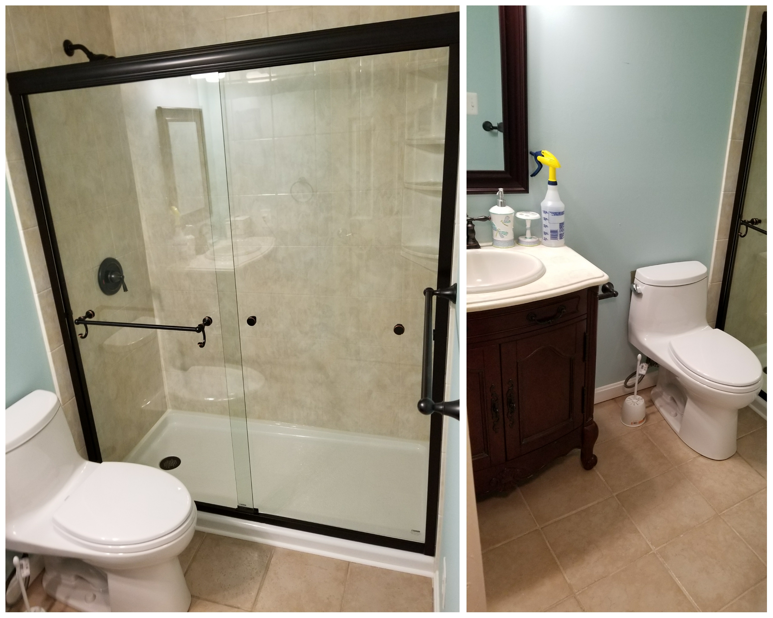 affordable full bathroom renovation