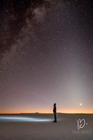 La photographe sous les étoiles