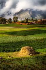 Paysage au-dessus de la Vallée Sacrée