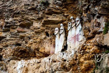 Sarcophages préolombiens de Karajia