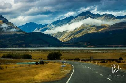 Vers Mount Cook