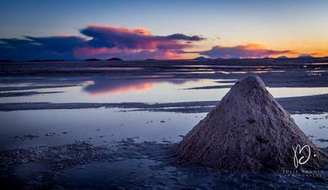Salar d'Uyuni inondé