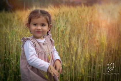 L'enfant et le champ de blé