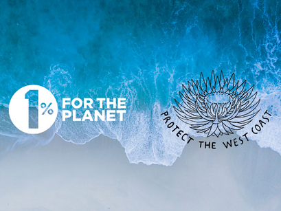 Protect The West Coast Partners with 1% for The Planet