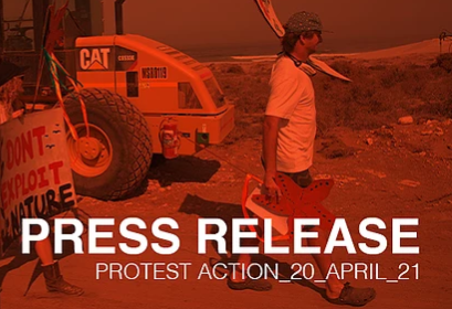 PTWC PROTEST ACTION - PRESS RELEASE