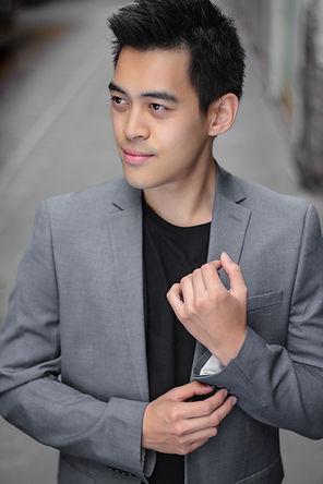Aaron Mak Editorial Portrait by Reel Photographs