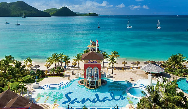 Sandals-Grande-St-Lucian-aerial-view-of-