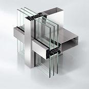 Стоечно-ригельный фасад Schüco FW 50+.SI