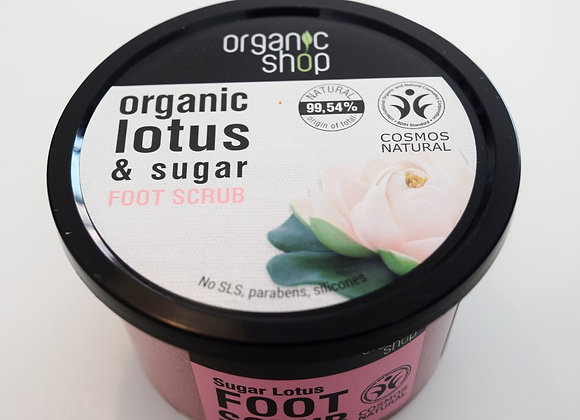 Gommage pieds Lotus