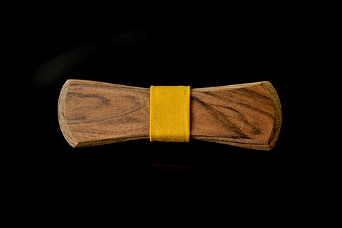 Honduran Rosewood: Yellow Cotton Notch