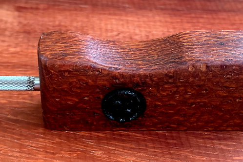 Leopard Wood Double Ended Dabber