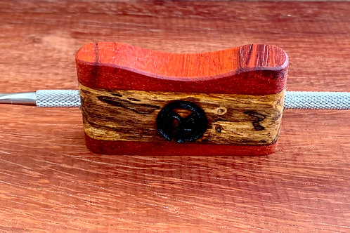 Padauk & Spalted Tamarind Double Ended Dabber