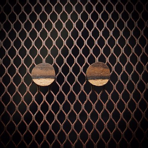 Cocobolo Stud Earrings