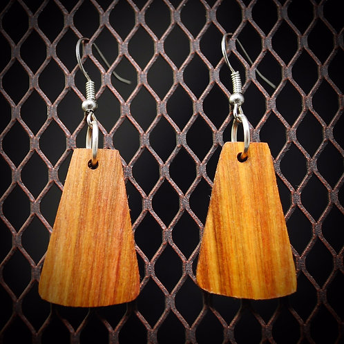 Canary Wood Earrings