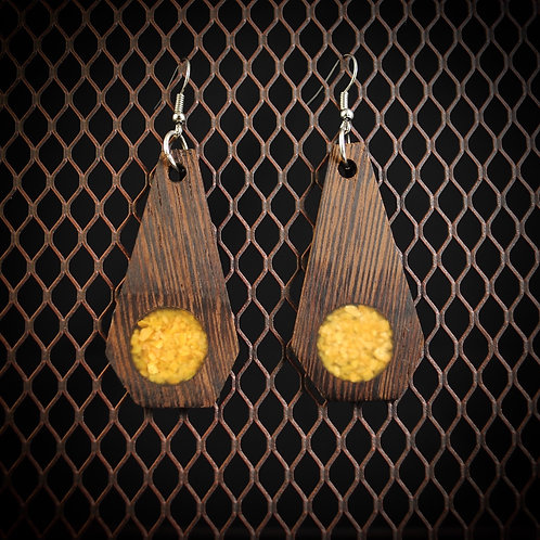 African Wenge & Crushed Orpiment