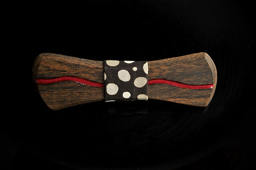 Bocote:  Stream Glow in the Dark Inlay