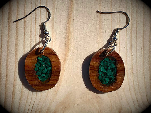 Canary Wood - Crushed Malachite